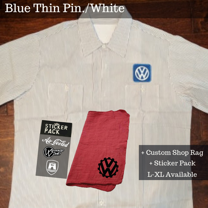 Gear Pack(Blue Pin/Wht (SHIPS U.S. ONLY), - Aircooled VW - Vintage Vdub
