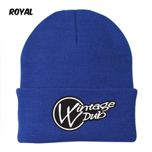 Load image into Gallery viewer, Vintage Vdub Embroidered Beanie, - Aircooled VW - Vintage Vdub