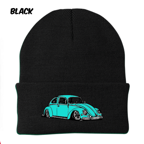 Vintage Bug Beanie (Sea Foam)