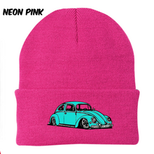 Load image into Gallery viewer, Vintage Bug Beanie (Sea Foam), - Aircooled VW - Vintage Vdub