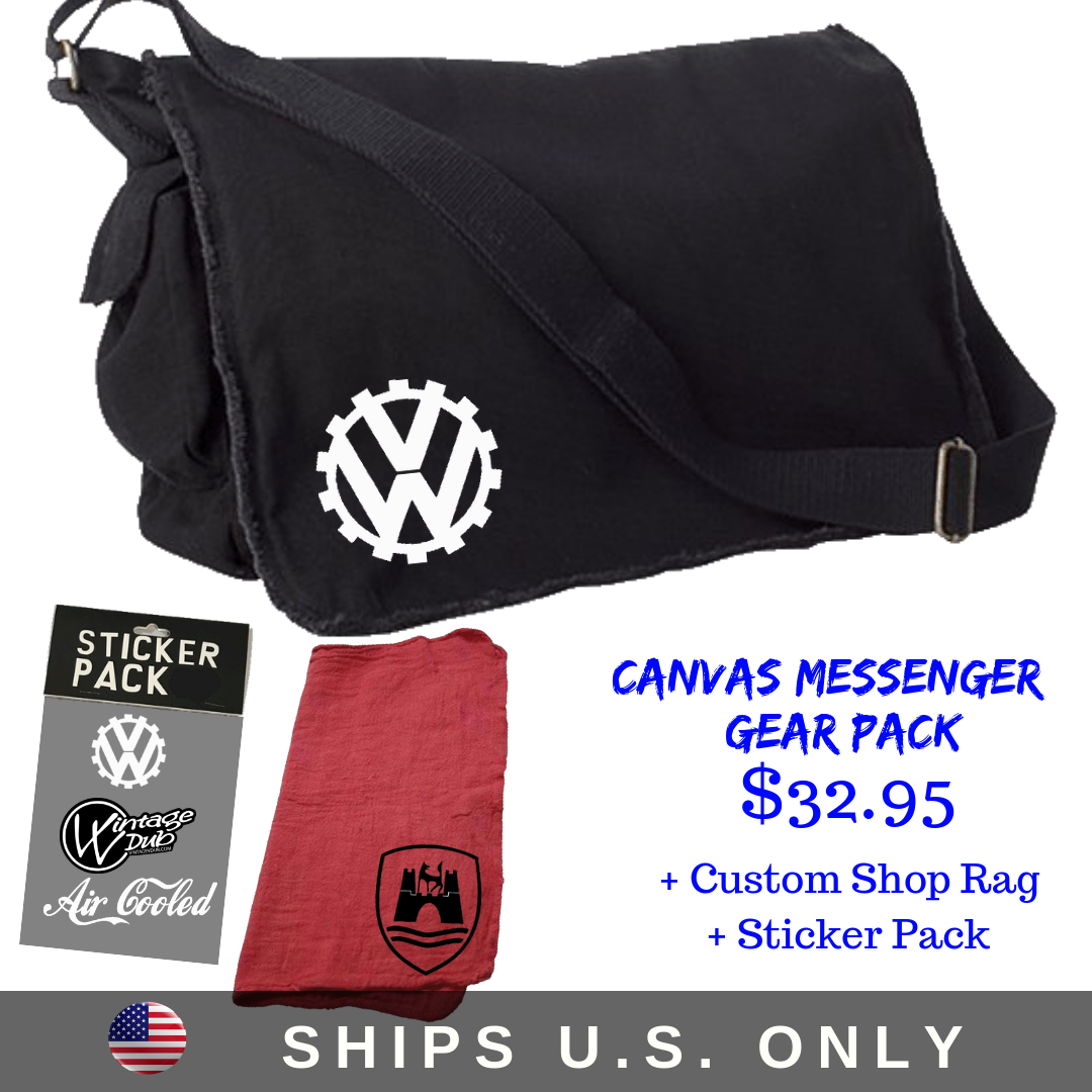 Canvas Messenger Gear Pack