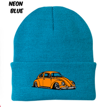Load image into Gallery viewer, Vintage Bug Beanie (Orange), - Aircooled VW - Vintage Vdub