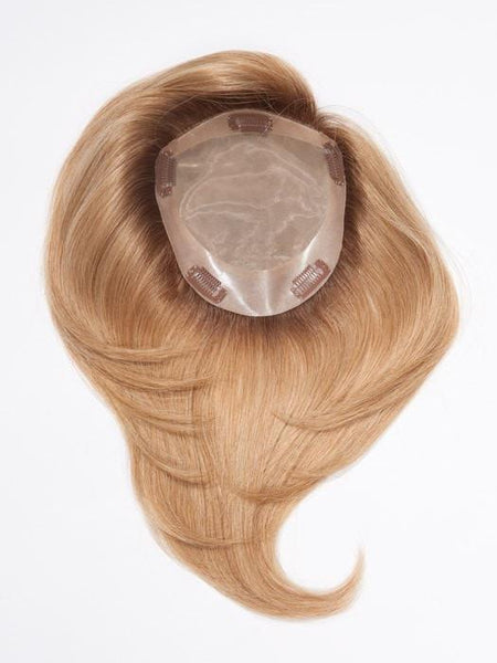 "12"" TOP FORM EXCLUSIVE COLORS ""Human Hairpiece""-Women's Top Pieces/Toppers-JON RENAU-4RN 