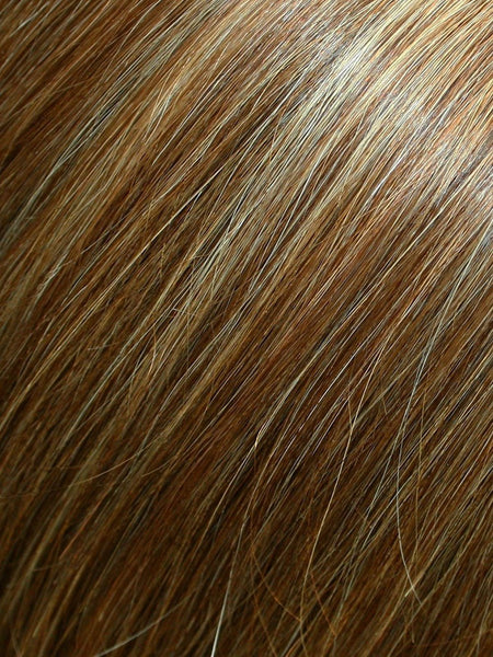 "18"" TOP FORM EXCLUSIVE COLORS ""Human Hairpiece""-Women's Top Pieces/Toppers-JON RENAU-FS26/31S6 Salted Caramel-SIN CITY WIGS"