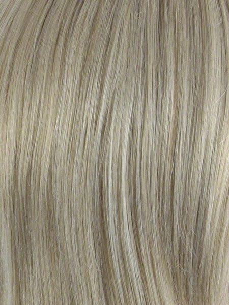 ADD-ON CROWN *Human Hairpiece*-Women's Top Pieces/Toppers-ENVY-LIGHT BLONDE-SIN CITY WIGS