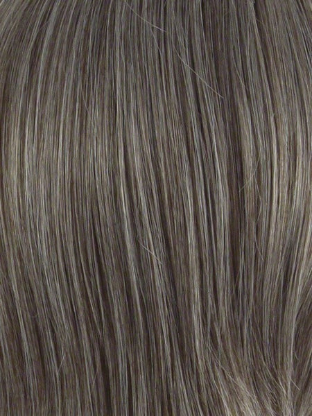 ADD-ON LEFT *Human Hairpiece*-Women's Top Pieces/Toppers-ENVY-38 DARK GREY-SIN CITY WIGS