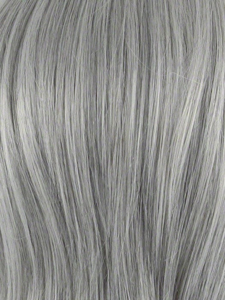 ADD-ON LEFT *Human Hairpiece*-Women's Top Pieces/Toppers-ENVY-56 MEDIUM GREY-SIN CITY WIGS