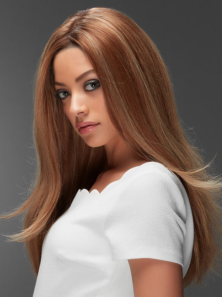 BLAKE EXCLUSIVE COLORS *Human Hair Wig*-Women's Wigs-JON RENAU-6RN-SIN CITY WIGS