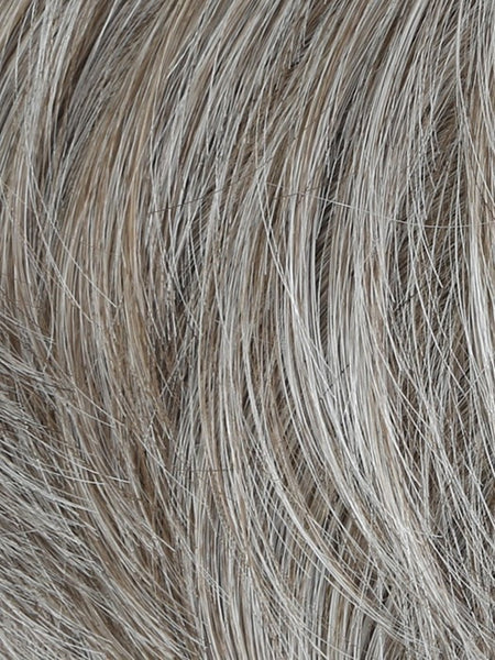 EDGE-Men's Wigs-HIM-M51S | Light Ash Brown With 50% Grey Blend-SIN CITY WIGS