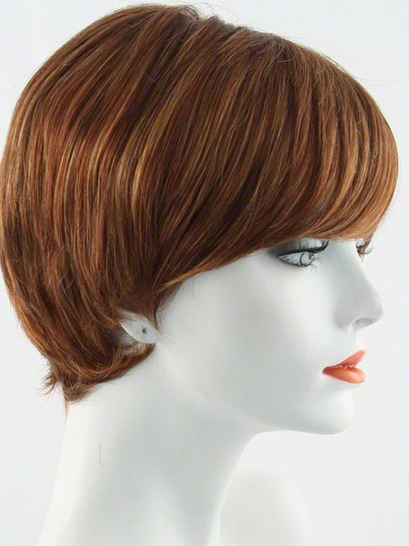 EXCITE-Women's Wigs-RAQUEL WELCH-R28S+ Glazed Fire-SIN CITY WIGS