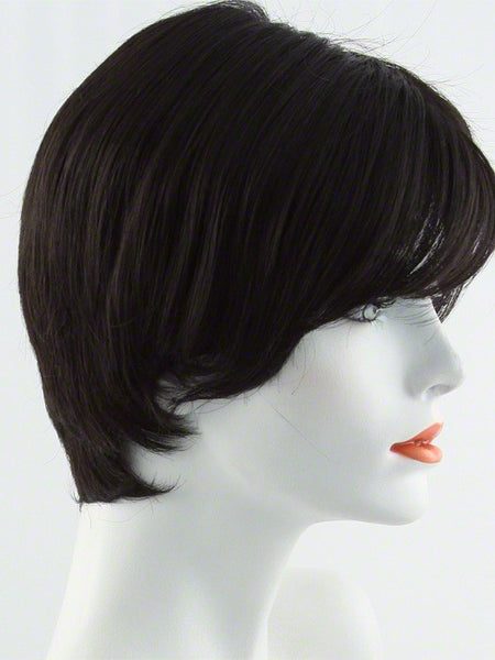 EXCITE-Women's Wigs-RAQUEL WELCH-R4 Midnight Brown-SIN CITY WIGS