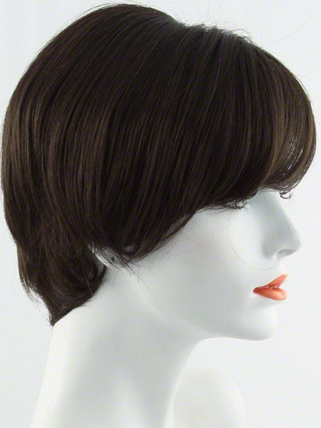 EXCITE-Women's Wigs-RAQUEL WELCH-R6 Dark Chocolate-SIN CITY WIGS