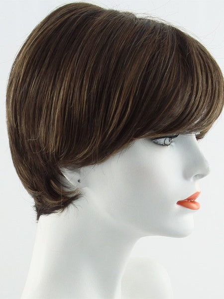 EXCITE-Women's Wigs-RAQUEL WELCH-R9S+ Glazed Mahogany-SIN CITY WIGS