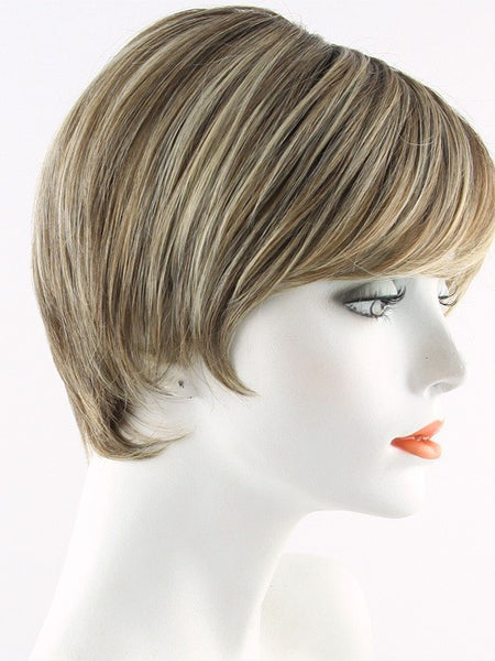 FANFARE-Women's Wigs-RAQUEL WELCH-RL12/22SS SHADED CAPPUCCINO-SIN CITY WIGS
