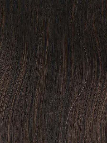 FASHION STAPLE-Women's Wigs-GABOR WIGS-GL 4-8 DARK CHOCOLATE | Rich Dark Brown-SIN CITY WIGS