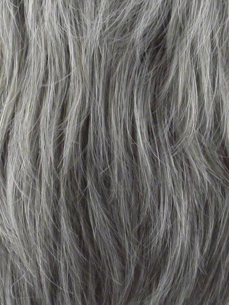 GABRIELLE PETITE-Women's Wigs-JON RENAU-56F51 OYSTER | Light Grey with 20% Medium Brown Front, graduating to Grey with 30% Medium Brown Nape-SIN CITY WIGS
