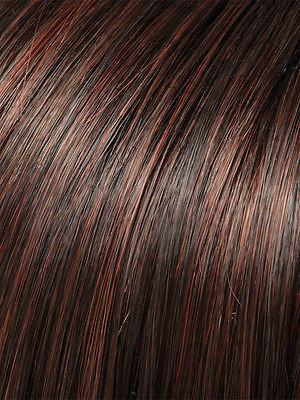 HEAT-Women's Wigs-JON RENAU-4/33 Chocolate Raspberry Truffle-SIN CITY WIGS