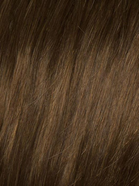 HIGH PROFILE *Human Hair Wig*-Women's Wigs-SIN CITY WIGS-R4HH CHESTNUT BROWN-SIN CITY WIGS