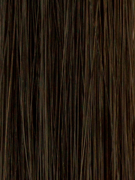 KIMMIE *Human Hair Blend*-Women's Wigs-AMORE-DARKEST-BRUNETTE-SIN CITY WIGS