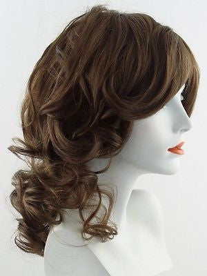 KNOCKOUT *Human Hair Wig*-Women's Wigs-RAQUEL WELCH-R10 Chestnut-SIN CITY WIGS
