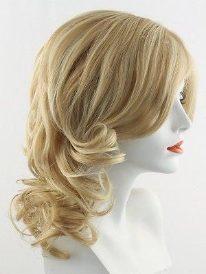 KNOCKOUT *Human Hair Wig*-Women's Wigs-RAQUEL WELCH-R14/25 Honey Ginger-SIN CITY WIGS