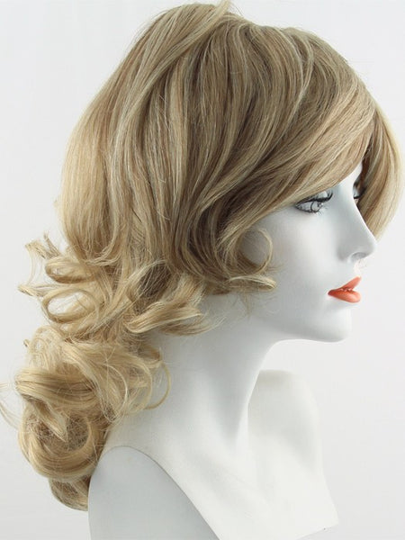 KNOCKOUT *Human Hair Wig*-Women's Wigs-RAQUEL WELCH-R1621S Glazed Sand-SIN CITY WIGS
