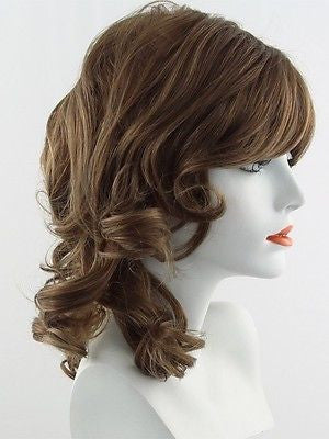 KNOCKOUT *Human Hair Wig*-Women's Wigs-RAQUEL WELCH-R25 Ginger Blonde-SIN CITY WIGS
