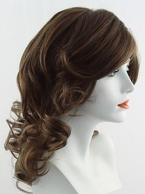 KNOCKOUT *Human Hair Wig*-Women's Wigs-RAQUEL WELCH-R830 Ginger Brown-SIN CITY WIGS