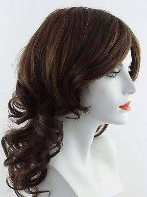KNOCKOUT *Human Hair Wig*-Women's Wigs-RAQUEL WELCH-R9S Glazed Mahogany-SIN CITY WIGS