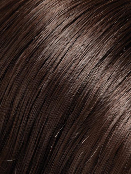 MEG-Women's Wigs-JON RENAU-6 FUDGESICLE | Dark Brown-SIN CITY WIGS