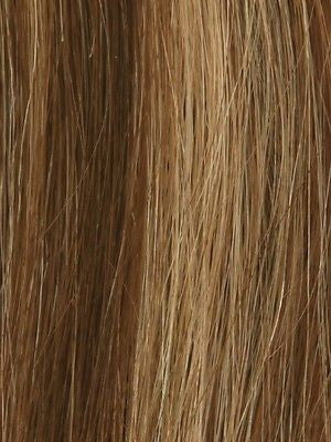 NRC 002HM *Human Hair Wig*-Women's Wigs-LOUIS FERRE-CAFE-LATTE-SIN CITY WIGS