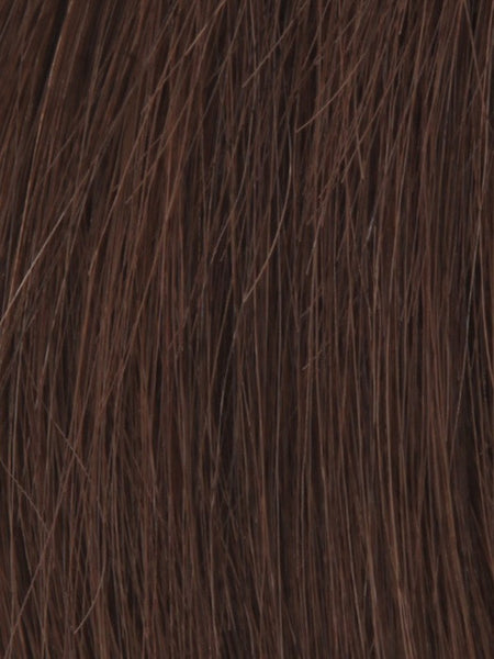 NRC 002HM *Human Hair Wig*-Women's Wigs-LOUIS FERRE-DARK CHOCOLATE-SIN CITY WIGS