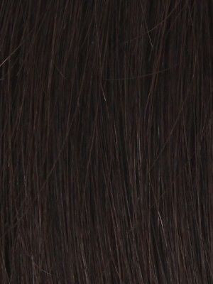 NRC 002HM *Human Hair Wig*-Women's Wigs-LOUIS FERRE-DARKEST-BROWN-SIN CITY WIGS