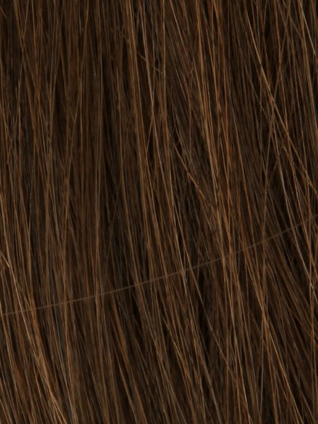 NRC 002HM *Human Hair Wig*-Women's Wigs-LOUIS FERRE-GINGER-BROWN-SIN CITY WIGS