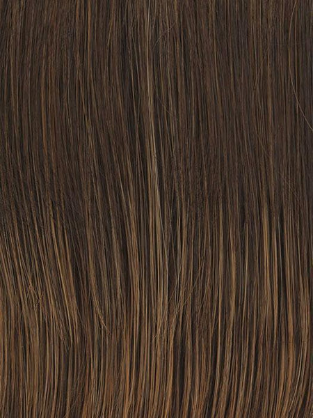 ON YOUR GAME-Women's Wigs-RAQUEL WELCH-Bronzed Sable (RL6/28)-SIN CITY WIGS