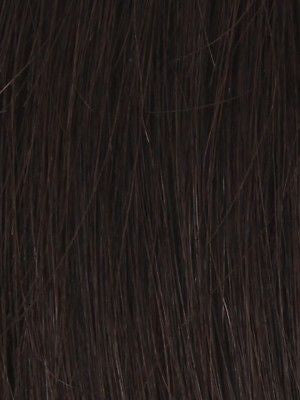 PLF 005HM *Human Hair Wig*-Women's Wigs-LOUIS FERRE-DARKEST-BROWN-SIN CITY WIGS
