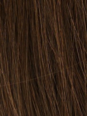 PLF 005HM *Human Hair Wig*-Women's Wigs-LOUIS FERRE-GINGER-BROWN-SIN CITY WIGS
