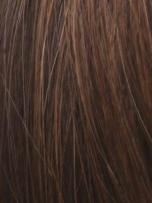 PLF 005HM *Human Hair Wig*-Women's Wigs-LOUIS FERRE-TOASTED-BROWN-SIN CITY WIGS