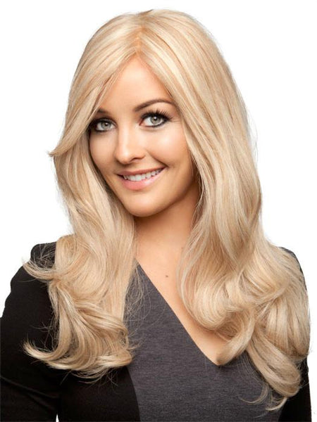 PLF 005HM *Human Hair Wig*-Women's Wigs-LOUIS FERRE-SUNNY-BLONDE-BROWN-SIN CITY WIGS