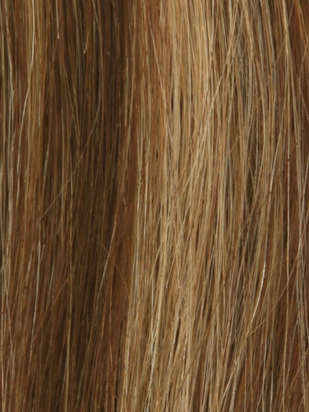 PLF 006HM *Human Hair Wig*-Women's Wigs-LOUIS FERRE-10/6/8 CAFE LATTE-SIN CITY WIGS