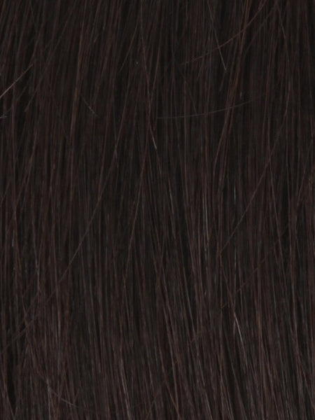 PLF 006HM *Human Hair Wig*-Women's Wigs-LOUIS FERRE-2 DARKEST BROWN-SIN CITY WIGS