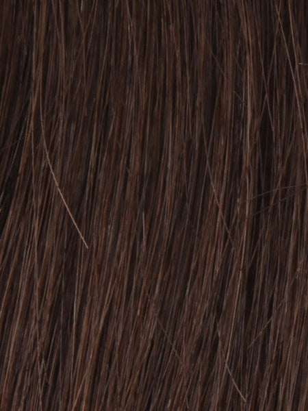 PLF 006HM *Human Hair Wig*-Women's Wigs-LOUIS FERRE-38 MEDIUM BROWN-SIN CITY WIGS