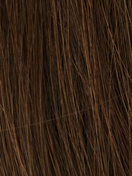 PLF 006HM *Human Hair Wig*-Women's Wigs-LOUIS FERRE-8/32 GINGER BROWN-SIN CITY WIGS