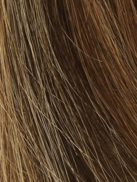 PLF 006HM *Human Hair Wig*-Women's Wigs-LOUIS FERRE-CARAMEL-CREAM-SIN CITY WIGS