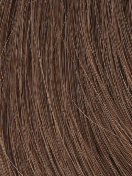 PLF 006HM *Human Hair Wig*-Women's Wigs-LOUIS FERRE-T27/6 MARBLE BROWN-SIN CITY WIGS