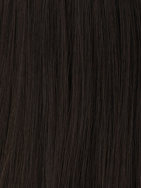 PRINCESSA *Human Hair Wig*-Women's Wigs-RAQUEL WELCH-BL1 Darkest Brown-SIN CITY WIGS