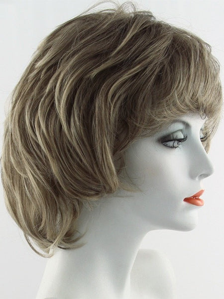 SALSA LARGE-Women's Wigs-RAQUEL WELCH-R1020 BUTTERED WALNUT-SIN CITY WIGS