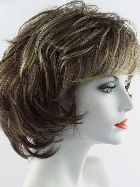 SALSA LARGE-Women's Wigs-RAQUEL WELCH-R11S GLAZED MOCHA-SIN CITY WIGS