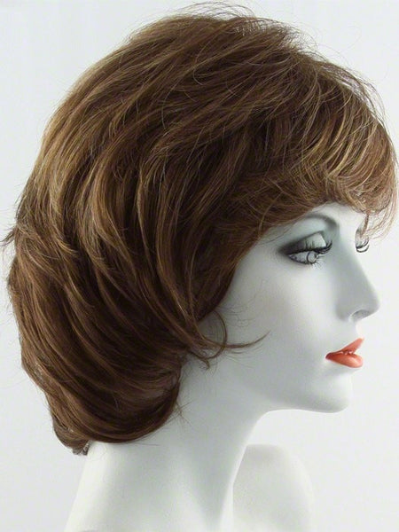 SALSA LARGE-Women's Wigs-RAQUEL WELCH-R3025S GLAZED CINNAMON-SIN CITY WIGS