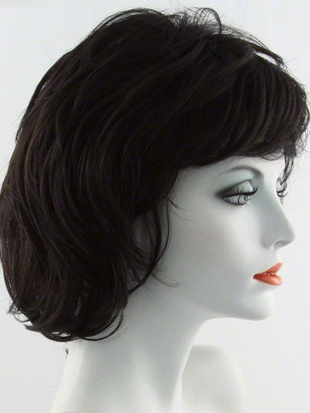 SALSA LARGE-Women's Wigs-RAQUEL WELCH-R4 MIDNIGHT BROWN | Black/ Brown-SIN CITY WIGS
